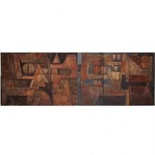 Grand panneau mural en 6 éléments, Nerone Ceccarelli Gruppo NP2