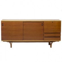 Grand buffet-bar de Joseph-André Motte. France vers 1955