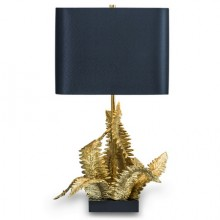 Fougere table lamp by Chrystiane Charles, circa 1970