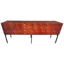 Alain Richard. Grand meuble-enfilade en palissandre, France vers 1958