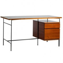 Pierre Guariche writing table with two drawers