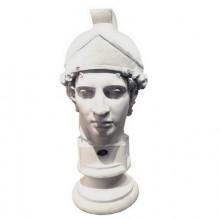 Buste en plâtre d'un soldat romain. France vers 1930