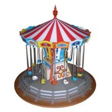 Carrousel, jouet électrique vers 1960.