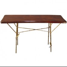1960 bamboo console table