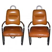 Paire de fauteuils, Kwok Hoi Chan pour Steiner 1971