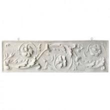 Petite frise en plâtre, France fin du XIXème siècle