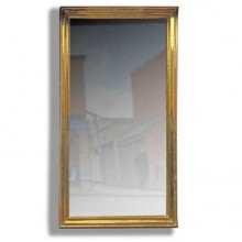 Grand et rare miroir de bistrot. France fin du XIXème siècle