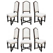 Six chaises des années 1970 par Romeo à Paris