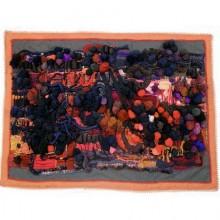 Art work tapestry signed M.J Guevel. France 1970